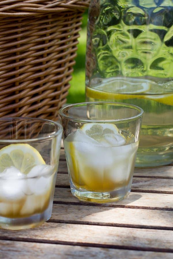 Download Hemlagad timjansirapdrink fotografering för bildbyråer. Bild av lemonade - 37344949