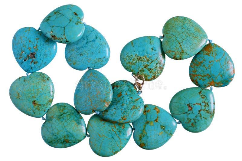 Hemlagade kvinnliga pärlor göras av slät gräsplan för hjärtaformer royaltyfria foton