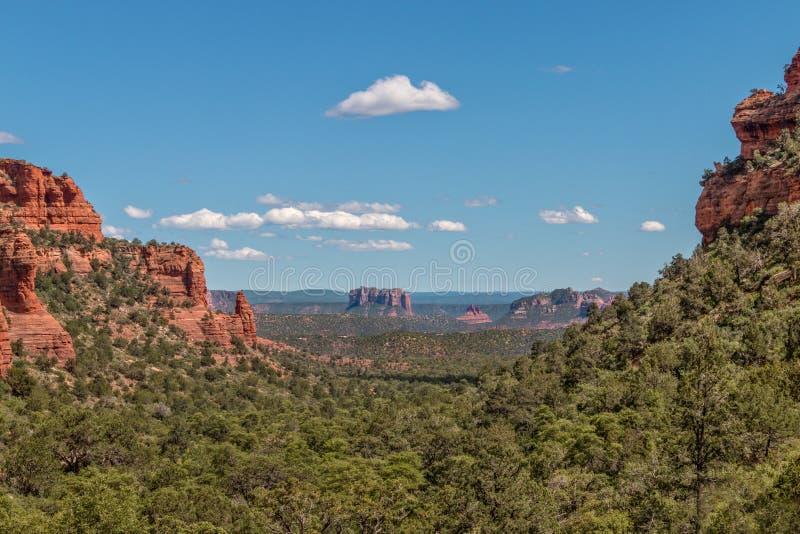 Hemlig bergvildmark Sedona Arizona royaltyfri foto