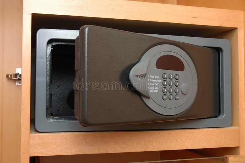 hemlig safe för ask royaltyfria foton