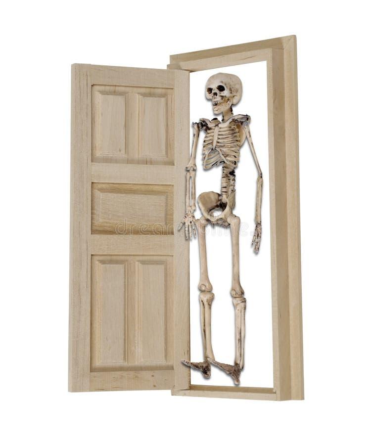 hemligt skelett royaltyfri fotografi
