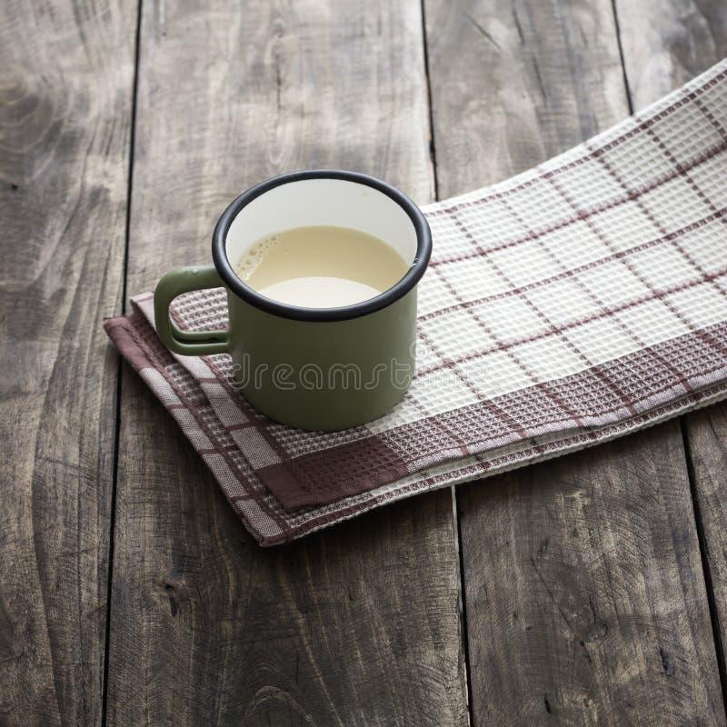 Hemmet gjorde nya sojabönor att mjölka arkivfoto