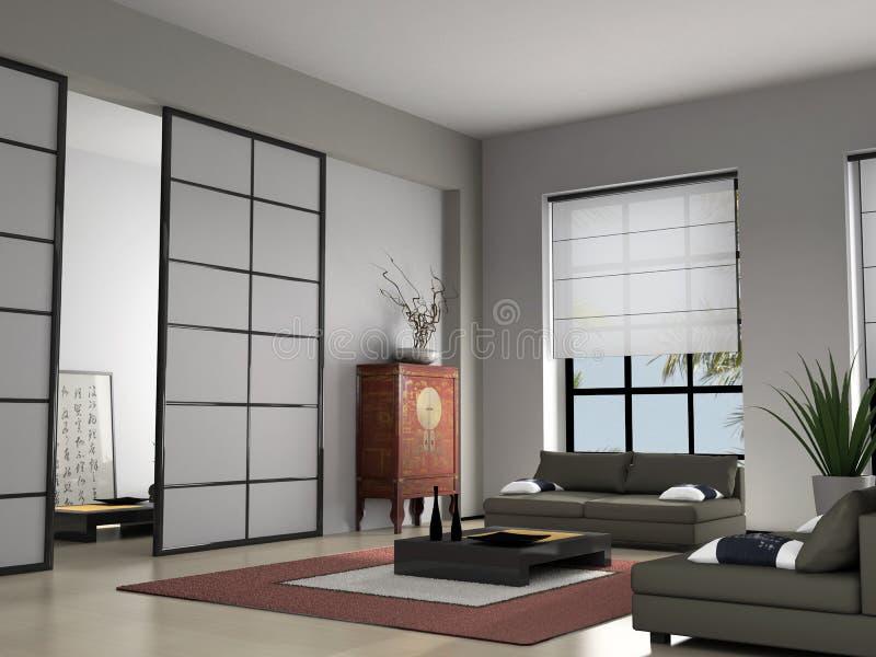 hemmiljö vektor illustrationer