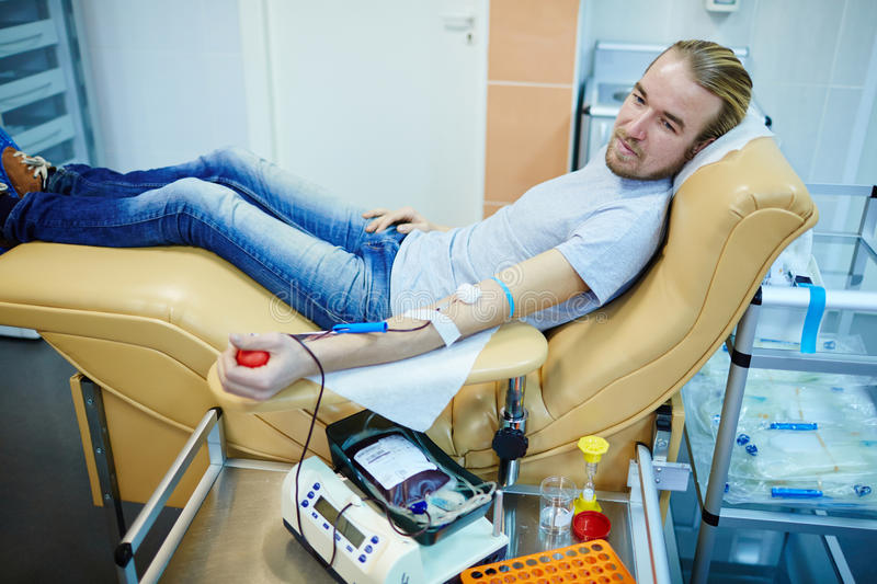 Hemotransfusion royalty free stock photo