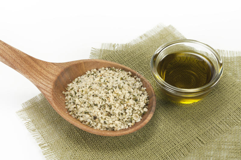 Download Hemp stock image. Image of natural, spoon, healthcare - 21597547