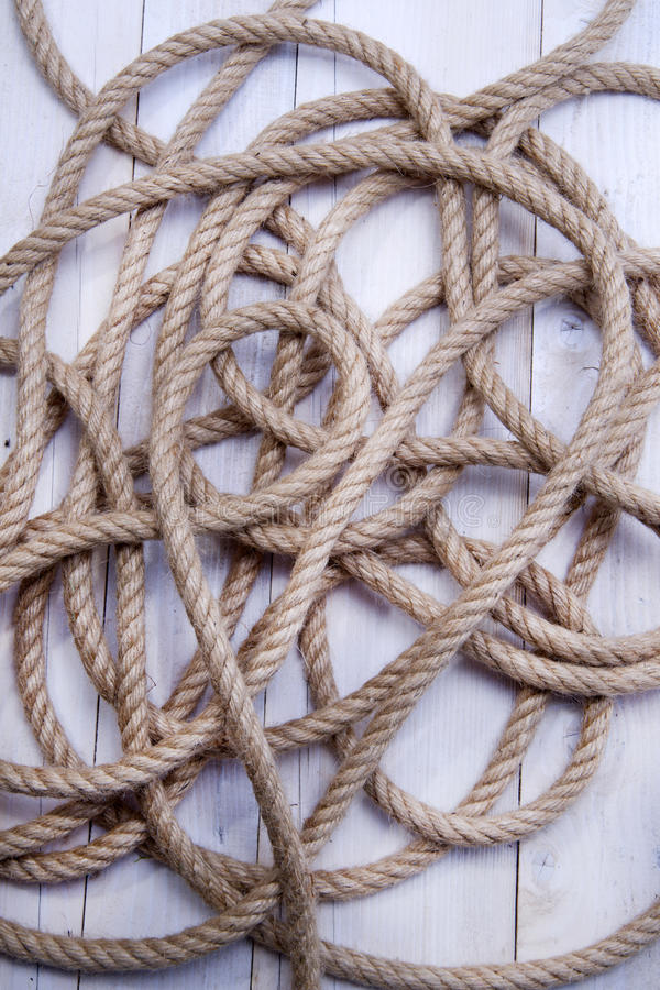 Download Hemp Rope stock image. Image of secure, connection, durable - 31360941