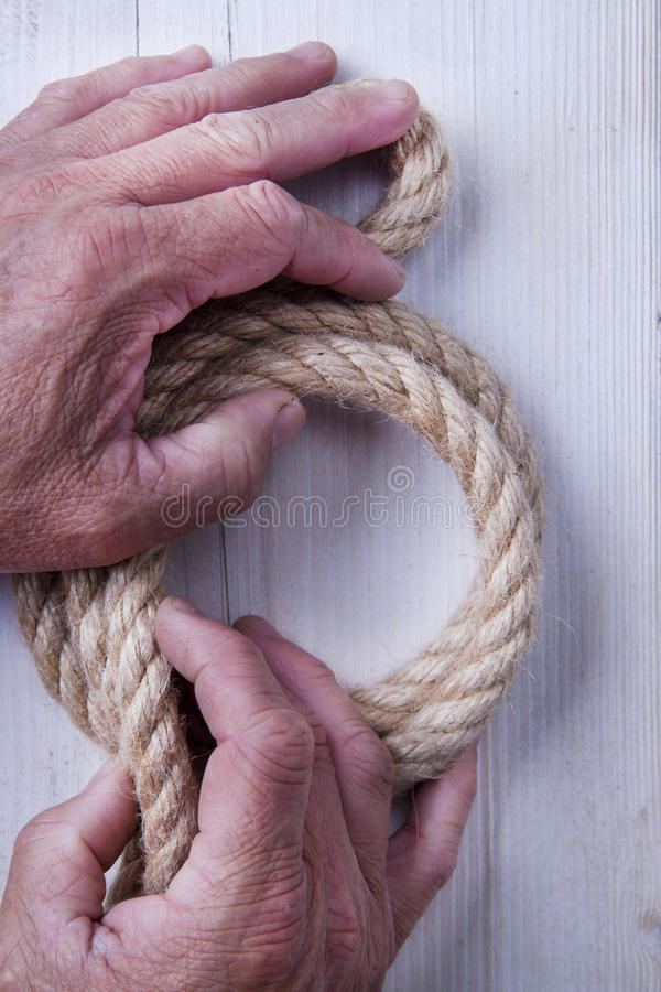 Download Hemp Rope stock photo. Image of link, creative, symbol - 31362026