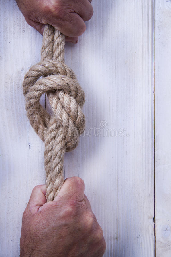 Download Hemp Rope stock image. Image of along, connect, twisted - 31362077