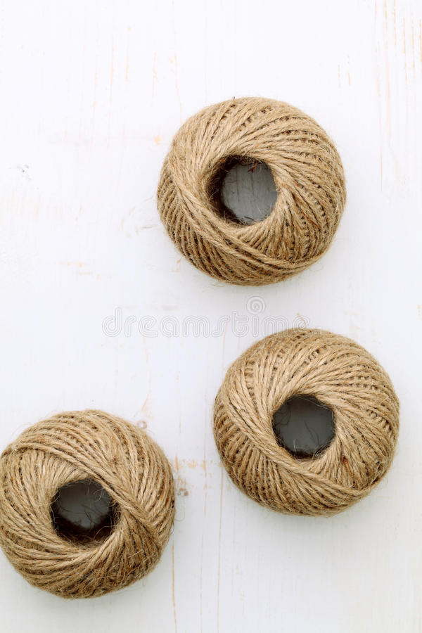 Hemp string stock photography