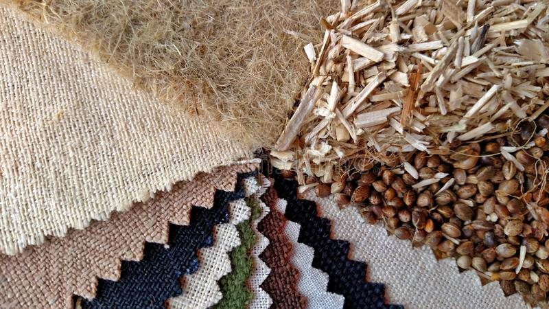Industrial Hemp Products stock images