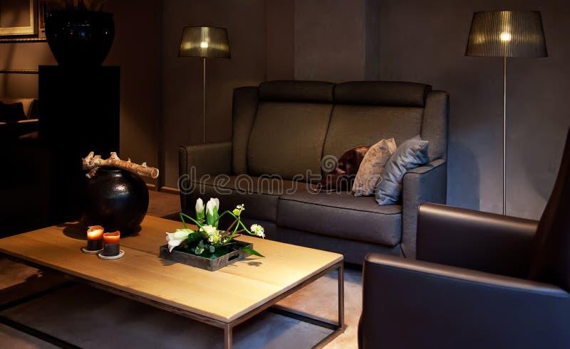 hemtrevlig interior royaltyfri bild