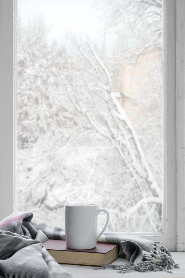 Hemtrevligt vinterstilleben royaltyfria foton