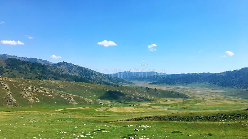 Hemu Highway in Xinjiang. Landscape over Hemu Highway in Xinjiang Uygur Autonomous Region in Northwestern China stock images