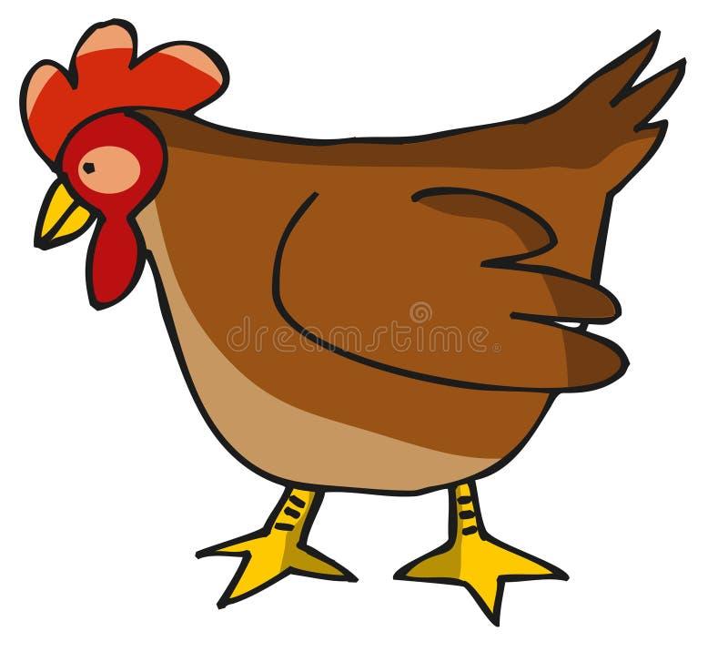 Hen. Brown Hen
