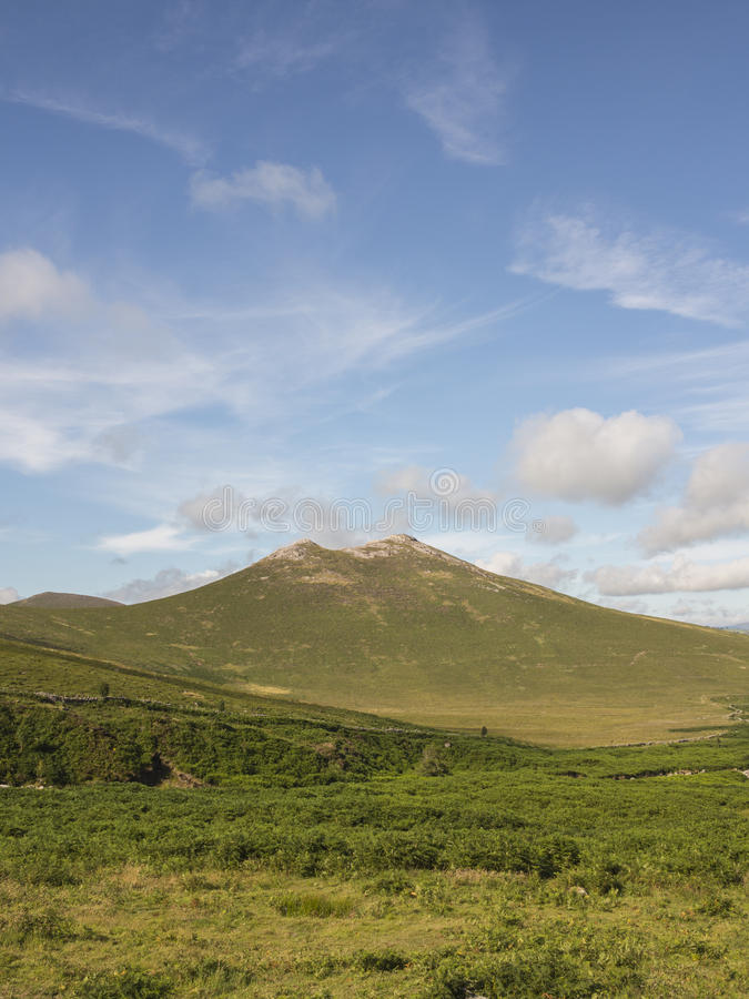 Hen Mountain In The Mournes Ireland Royalty Free Stock Photo