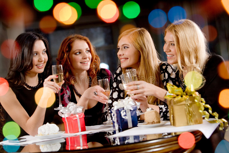 Download Hen-party stock image. Image of friendly, cool, evening - 7829237