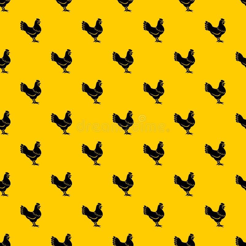 Hen pattern vector stock illustration