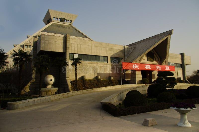 Henan Museum, China stock images