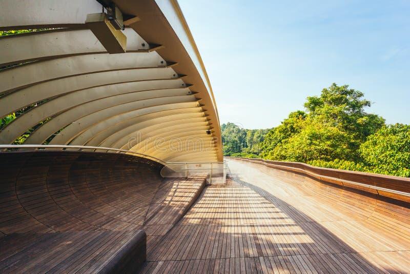 Henderson Waves Bridge, Singapore royalty-vrije stock afbeelding
