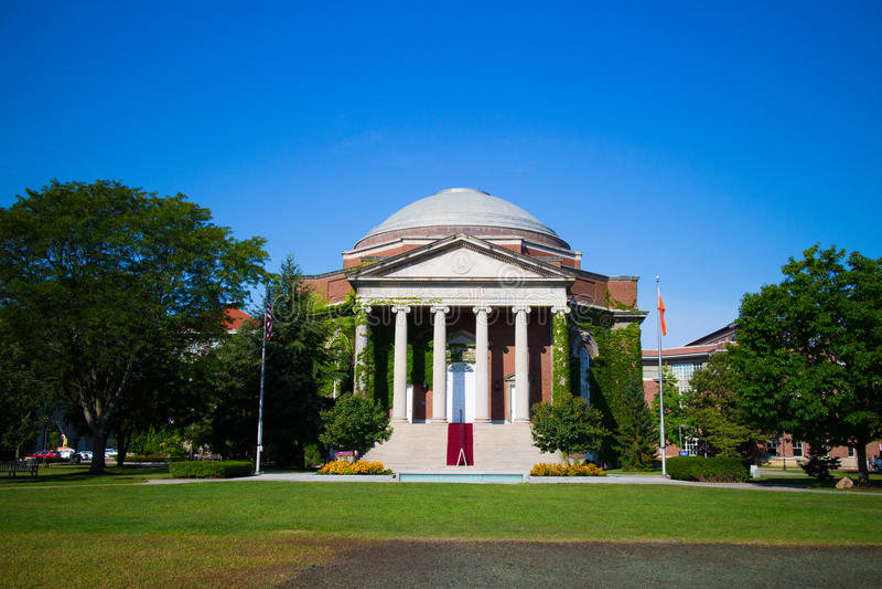 Hendricks kapell i det Syracuse universitetet arkivbild