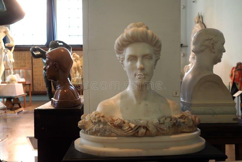 Hendrik Christian Andersen House-Museum in Rome, Italië royalty-vrije stock afbeeldingen