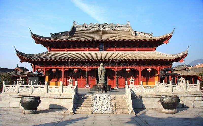 Hengdian film- och televisionstad, Jinhua, Zhejiang, Kina arkivbilder