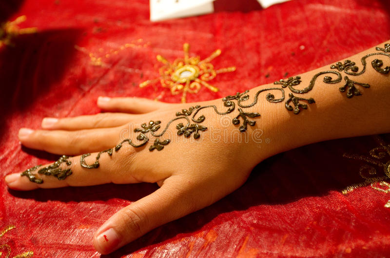 Hennè tattoo royalty free stock photography