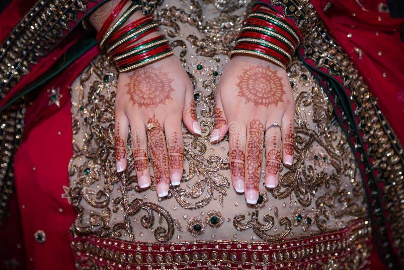 Henn ręki zdjęcia royalty free