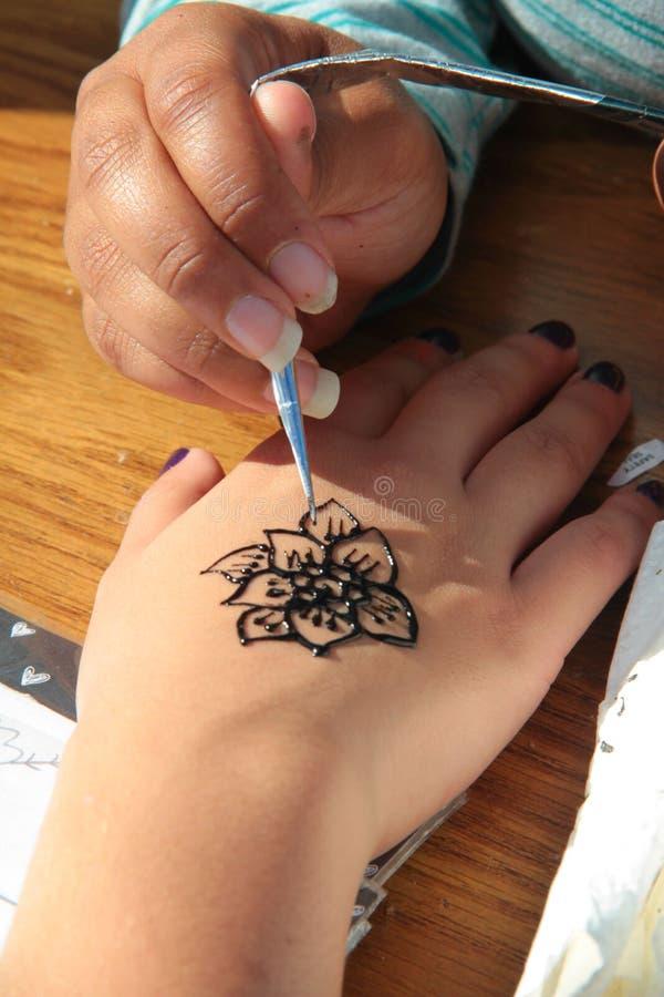 henna royalty-vrije stock foto