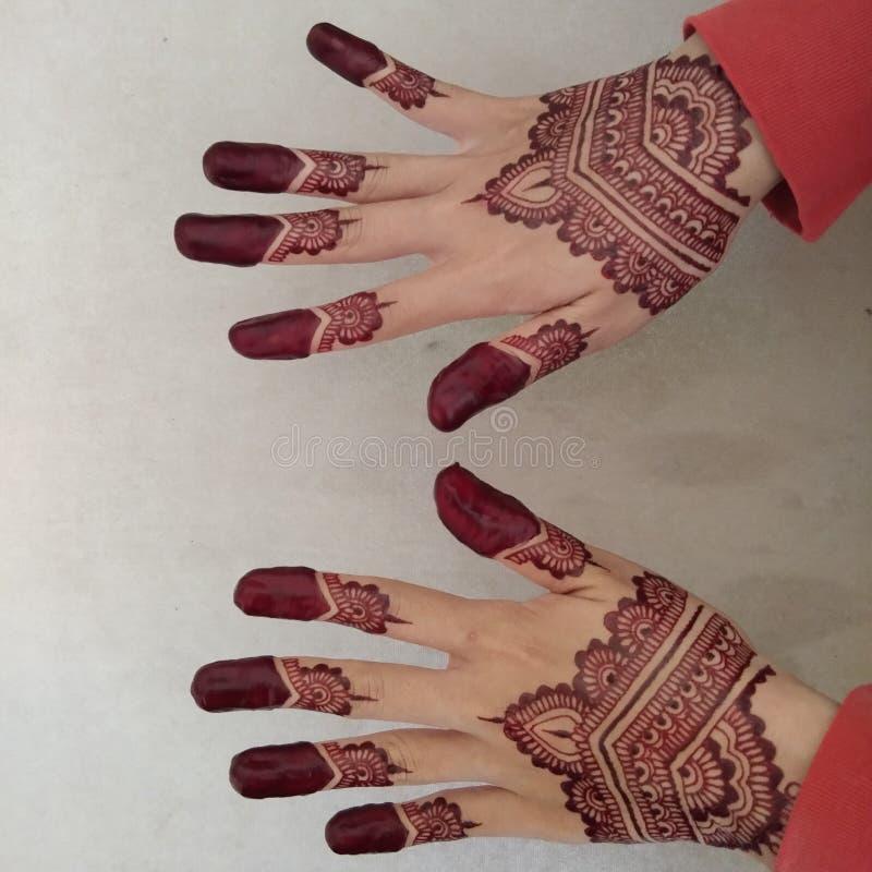 henna stockbilder
