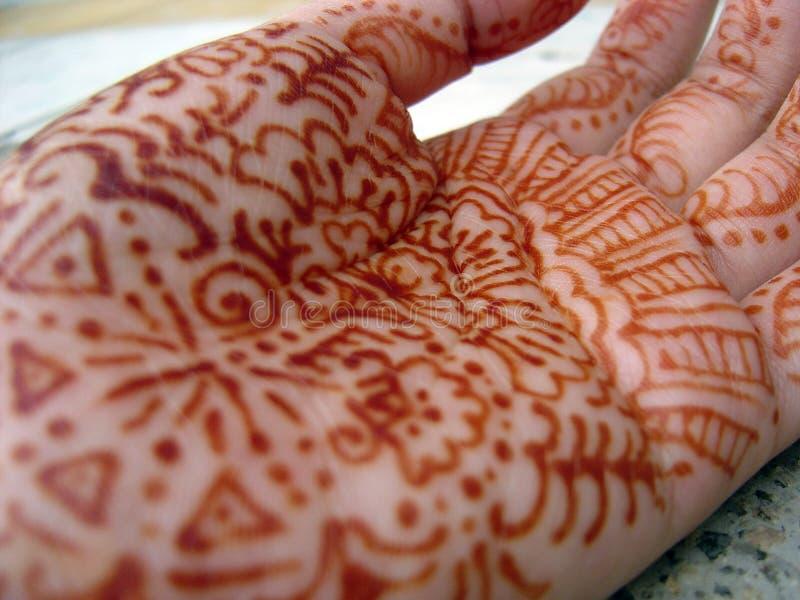 Download Henna stock illustration. Image of ethnic, bride, hand - 387205