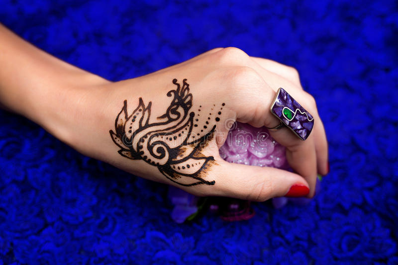 henna obrazy stock
