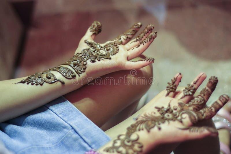 Henna Art stockfotos