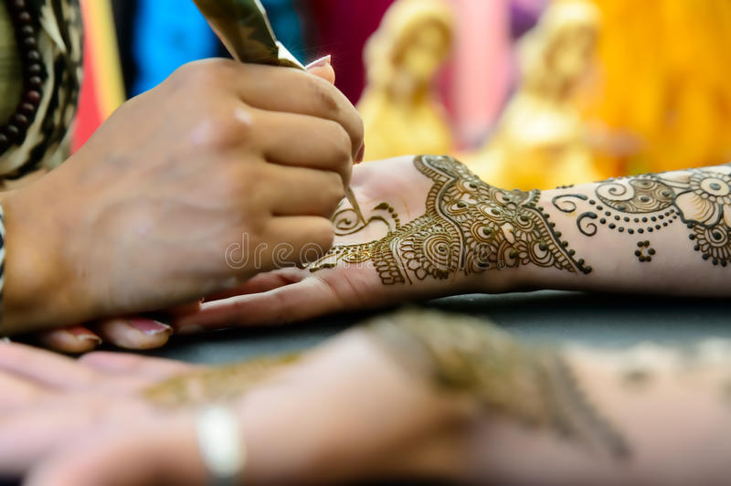 Henna Art royalty free stock images