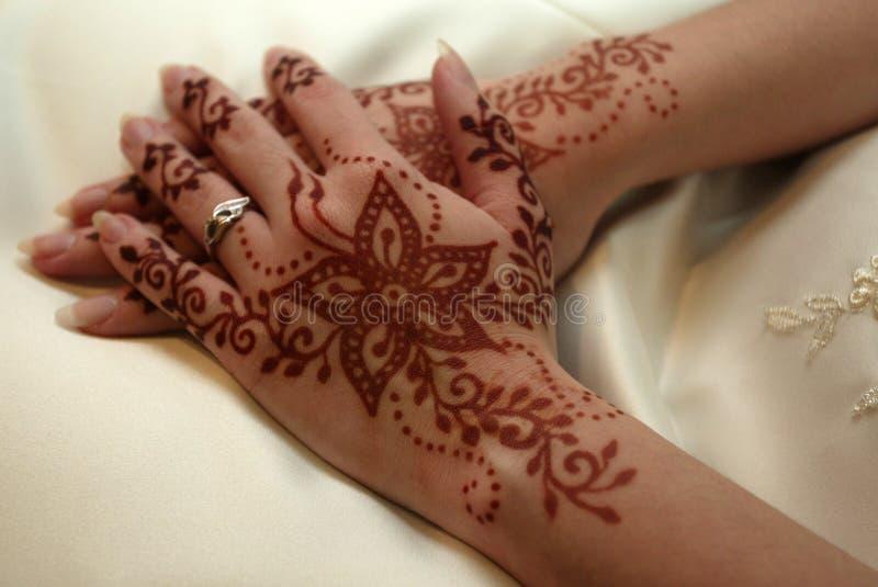Henna Deco royalty-vrije stock foto's