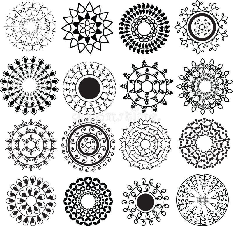Henna Mandala vector illustratie