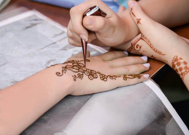 Henna Tattoo fotos de archivo