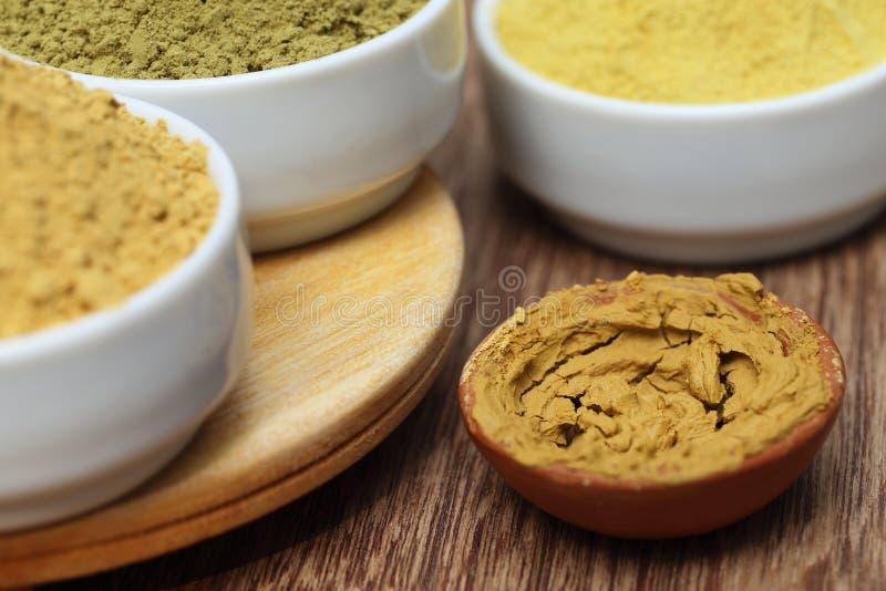 Download Henna Uptan Sandalwood Powder Stock Photo - Image of ceramic, culture: 36280560