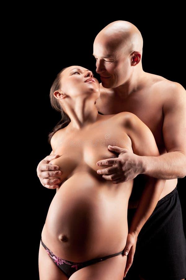 Gravid Naken