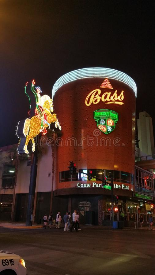 Hennesseys Taverne stockfoto