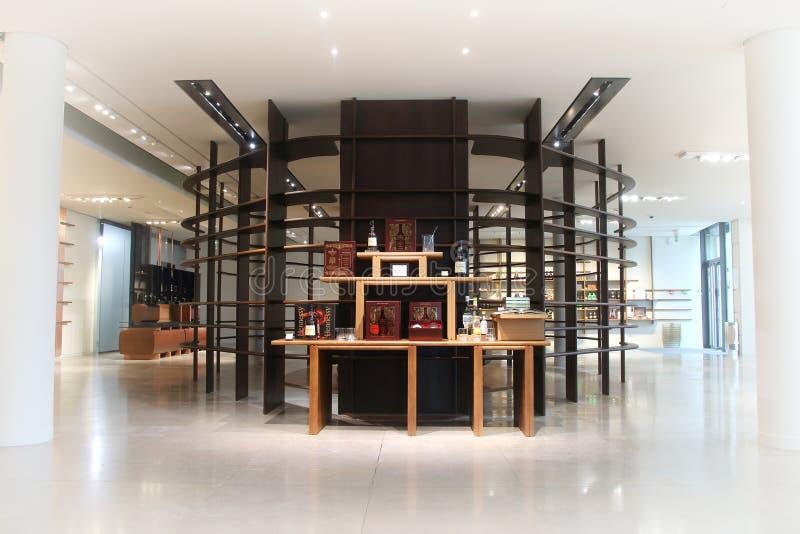 Hennessy-geestwinkel in Cognac Frankrijk stock fotografie