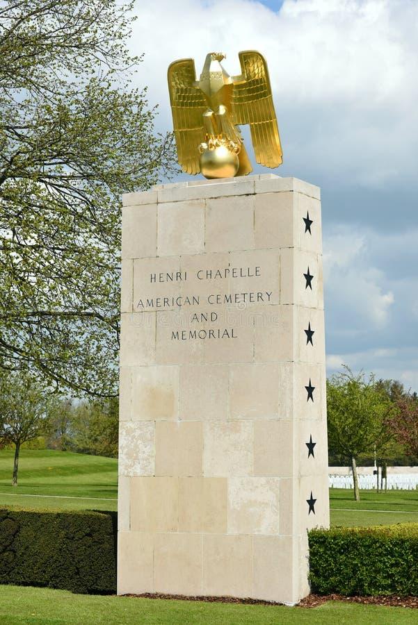 Henri-Chapelle American Memorial fotografía de archivo