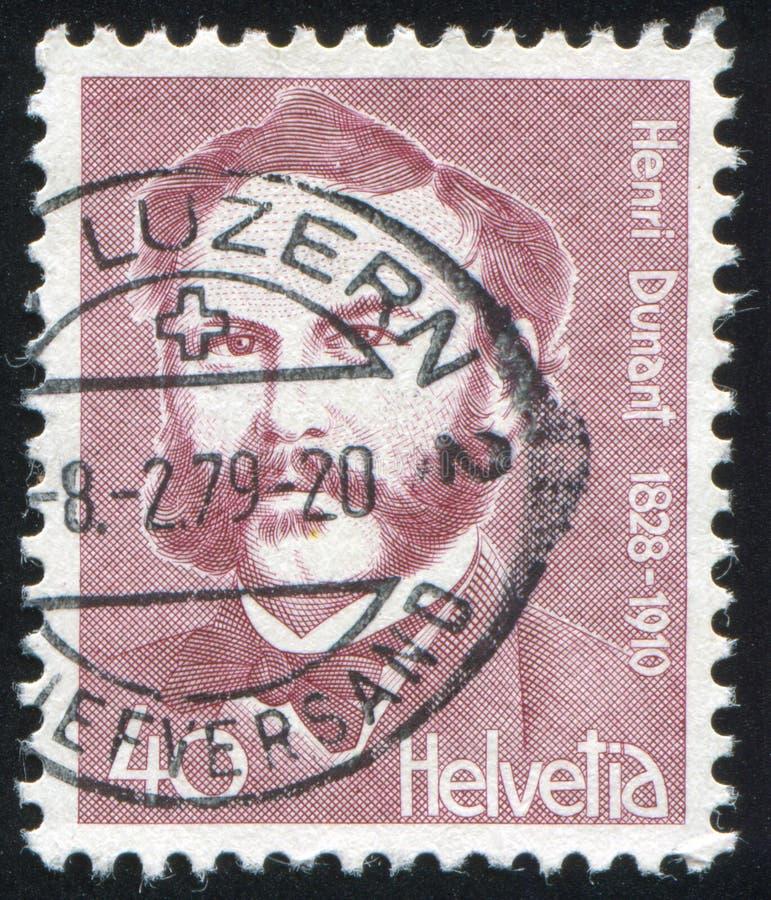 Henri Dunant стоковые изображения rf