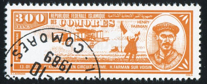 Henri Farman стоковые фото
