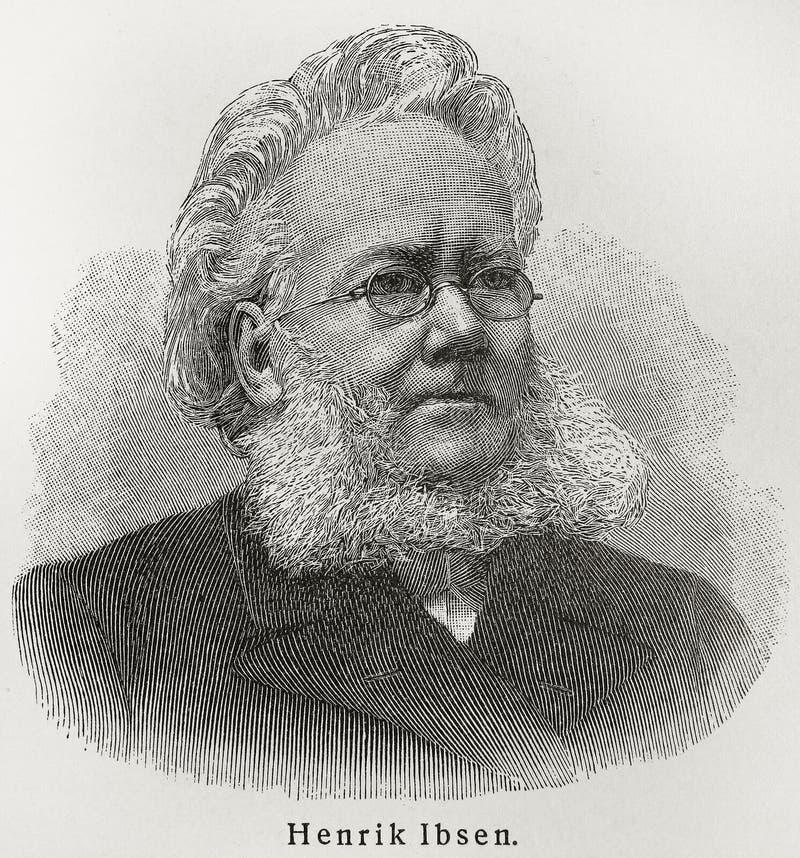 Henrik Ibsen imagen de archivo libre de regalías