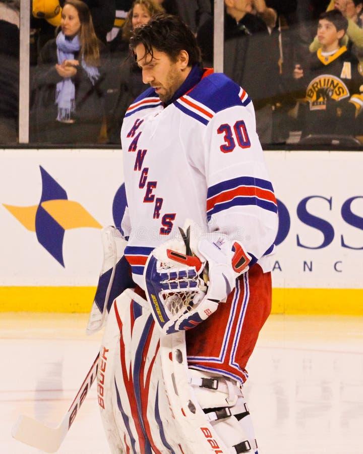 Henrik Lundqvist New York Rangers imagen de archivo