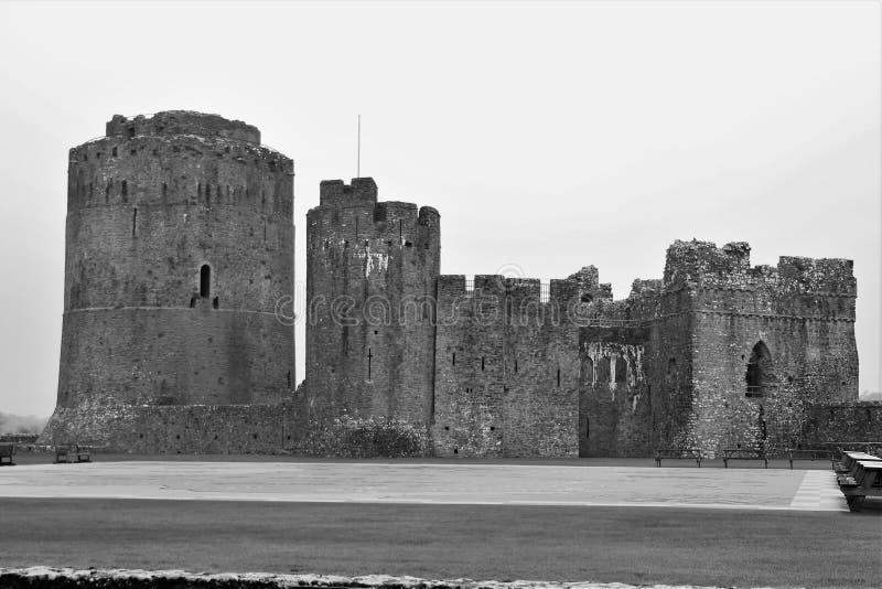 Henrio del oeste del castillo de País de Gales el 8vo fotos de archivo libres de regalías