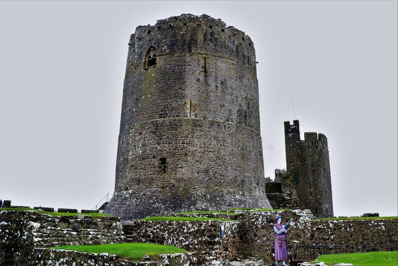 Henrio del oeste del castillo de País de Gales el 8vo foto de archivo