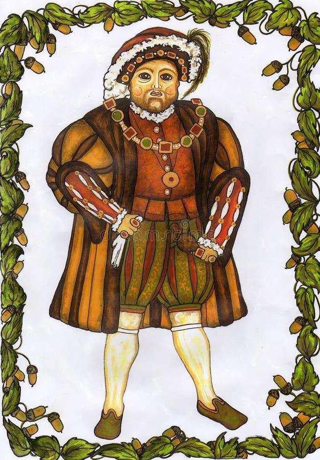 Henry 8th vector illustration