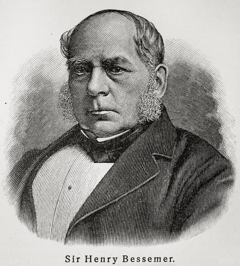 Henry Bessemer royalty-vrije illustratie